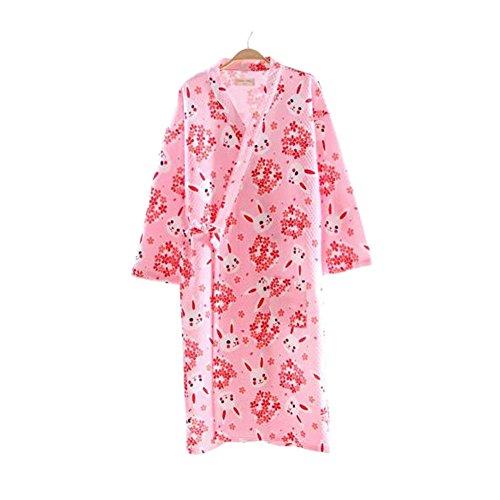 女性着物ローブ浴衣バスローブパジャマ#11