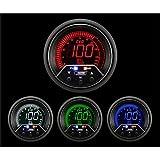 """Oil Pressure Gauge- EVO Series Blue and Red Digital 52mm (2 1/16"""")"""