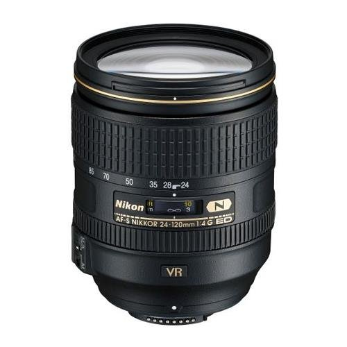 Nikon 24-120mm f/4G ED-IF AF-S NIKKOR VR Vibration Reduction NIKKOR Lens - Refurbished U.S.A.