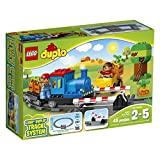 Lego Trains Best Deals - LEGO DUPLO Town Push Train 10810, Preschool, Pre-Kindergarten Large Building Block Toys for Toddlers