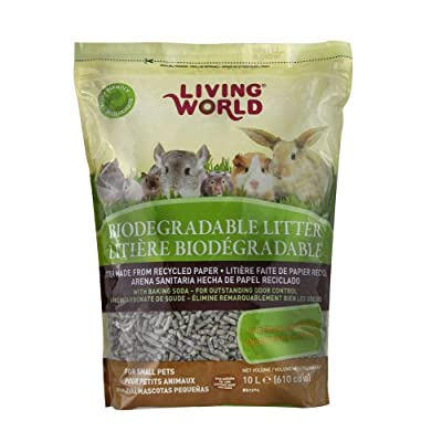 Living World 61274 Biodegradable Litter for Small Animals, 10L (610-Cubic Inch)