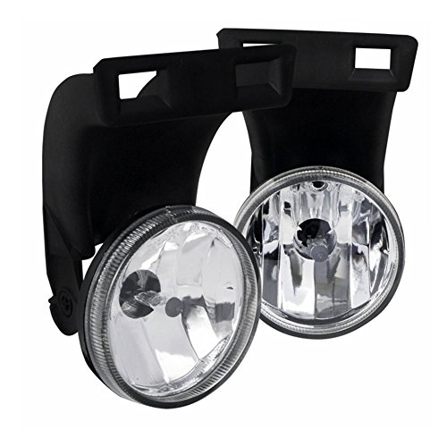 AUTOSAVER88 Factory Style Fog Lights For 1994-2002 Dodge Ram 1500 2500 3500 Pick Up Truck (Clear Lens w/ Bulbs)(Only fit Without Sport Package model)