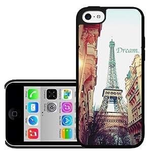 Dream Big Paris Destination Hard Snap on Phone Case (iPhone 5c)