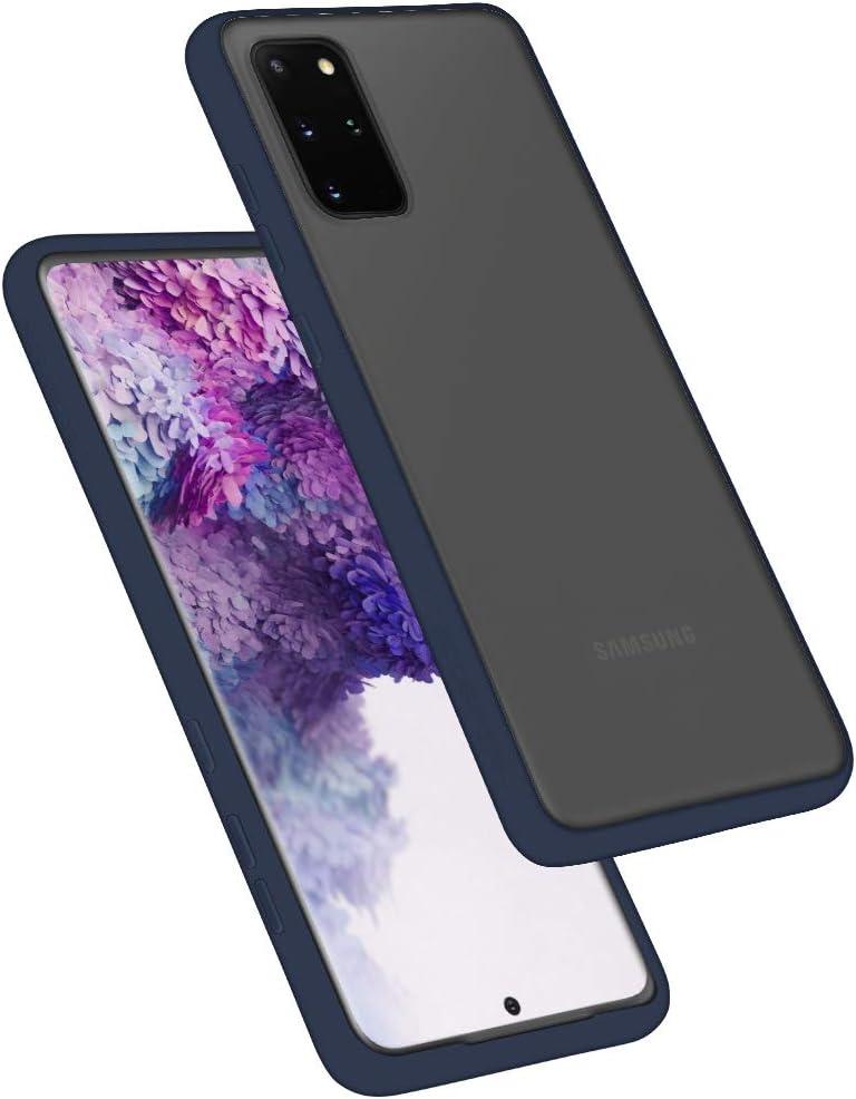 2020 Protective Slim Bumper Case Goospery Peach Garden for Samsung Galaxy S20 Plus Case S20P-PEA-BLK Black