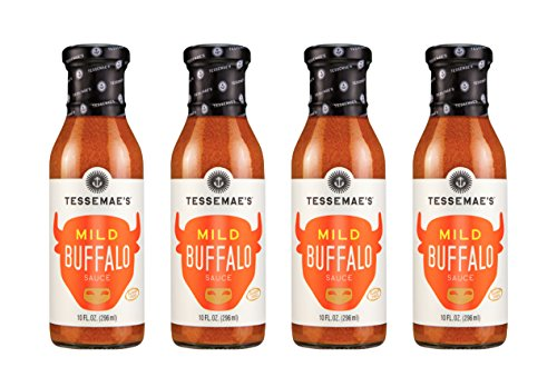 Tessemae's All Natural Condiment 4-Pack (Mild Buffalo)
