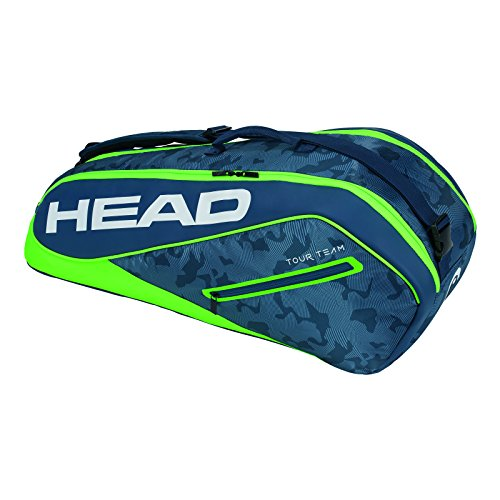 HEAD  Tour Team 6R Combi Tennis Bag Navy/Green