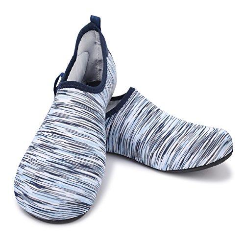 Socks Yoga Sports White Blue Surf Quick for Shoes Dry Water Swim Barefoot Pool Womens Men's Beach JOINFREE Aqua qCAz1
