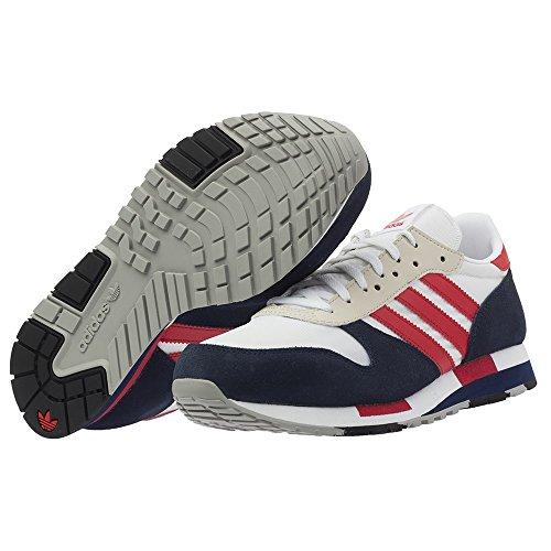 adidas Originals - Zapatillas para hombre Weiß/Marineblau/Rot 43 1/3