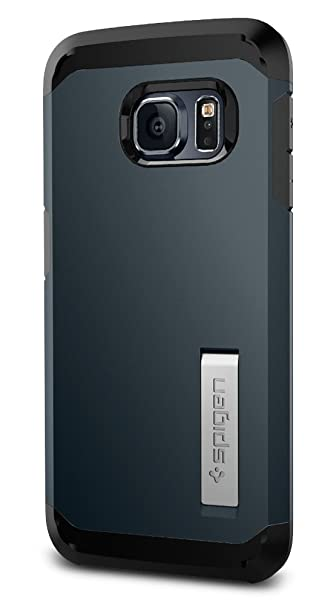 brand new f64cf 90cbb Spigen Tough Armor Galaxy S6 Edge Case with Reinforced Kickstand and Heavy  Duty Protection and Air Cushion Technology for Samsung Galaxy S6 Edge ...