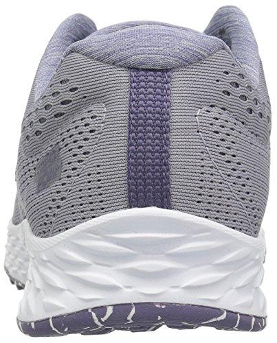 New Balance Women's Fresh Foam Arishi V1 Running Shoe, Light Grey/Purple, 5 B US by New Balance (Image #2)
