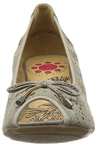 Lotus Jucunda - Sandalias para mujer Gris - Grey (Pewter)