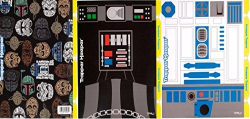 Mead Star Wars Trapper Keeper Snapper Trapper 2 Pocket & Prong Portfolio Folders R2-D2 Darth Vader Lot of 3 Bundle