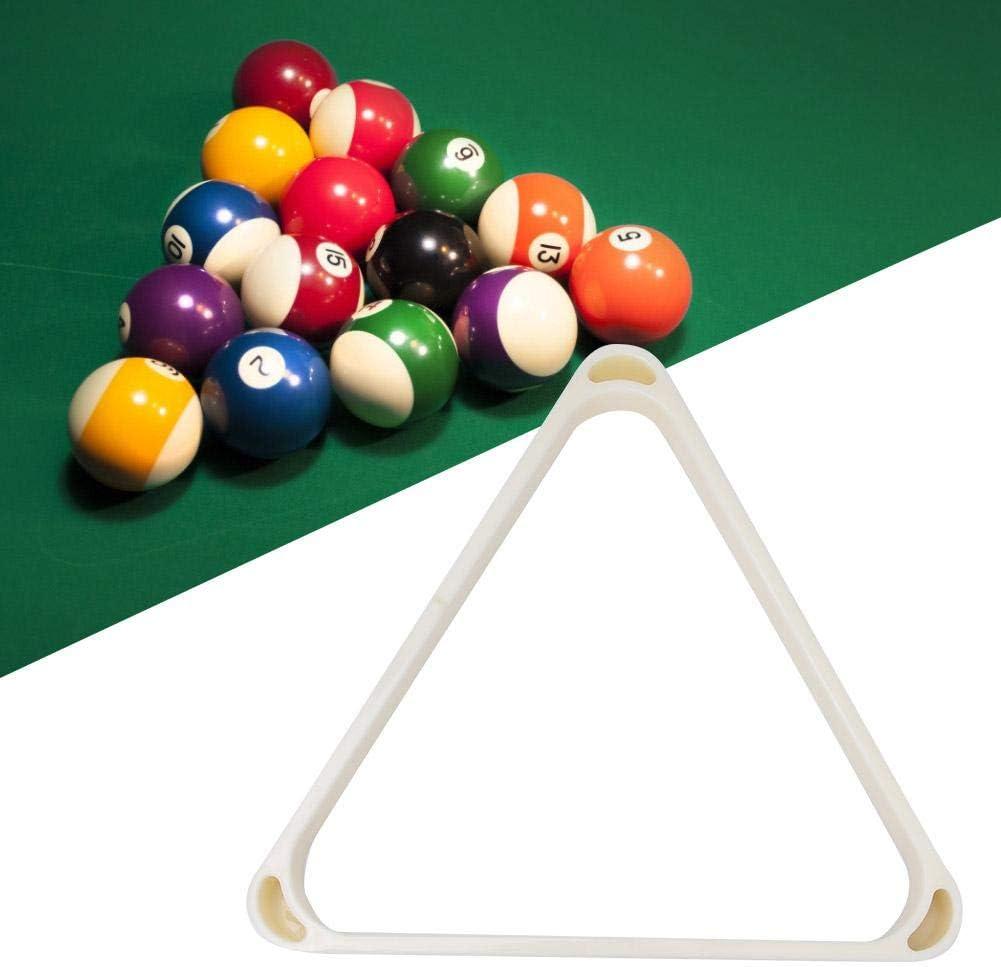 Billar Rack de Bolas Billar de Plástico ABS Marco Triangular ...