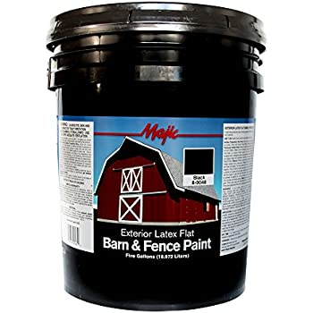 Valspar 3125 10 Barn And Fence Latex Paint 5 Gallon Red Home Improvement