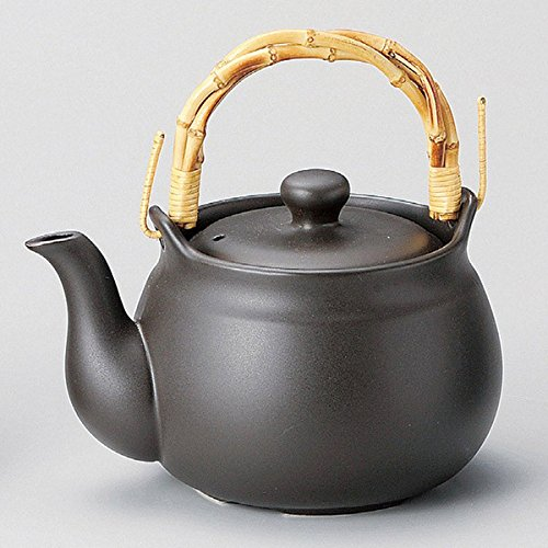 Japanese ceramic Tokoname ware. Dobin Earthenware tea pot. 1250cc M-1209