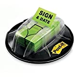 (3M 680-HVSD) (3M ID Number 70071419264) Post-it(R) Flags 680-HVSD, 1 in x 1.7 in (25,4 mm x 43,2 mm) Bright Green 200 flags dispenser [You are purchasing the Min order quantity which is 12 PACKAGES]
