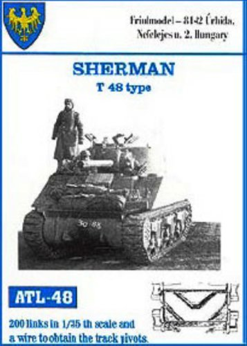 Amazon com: Friulmodel ATL48 1/35 Metal Track for Sherman T