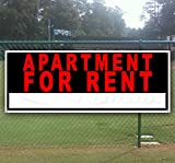 Apartment for Rent 13 oz Heavy Duty Vinyl Banner Sign with Metal Grommets, New, Store, Advertising, Flag, (Many Sizes Available)