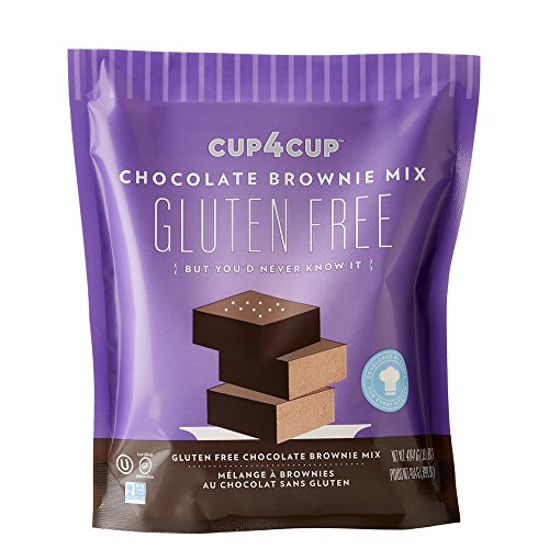 Cup 4 Cup Gluten Free Chocolate Brownie Mix, 14.25 oz by Cup4Cup