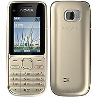 Nokia C2-01 Warm Zilver Zilver Mobiele Telefoon (zonder Simlock, zonder branding)