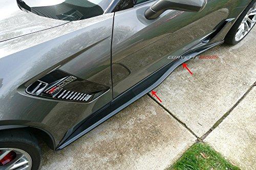 C3 C4 C5 C6 C7 Corvette Lamin-X Clear Bra Side Skirt Skuff/Scratch Protection Film - (Corvette Clear Bra)