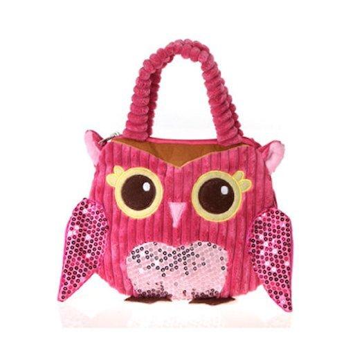 Fiesta toys girly pink owl hand bag 10