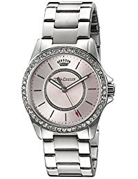 Juicy Couture Women's Laguna Quartz Stainless Steel Casual Watch, Color:Silver-Toned (Model: 1901408)