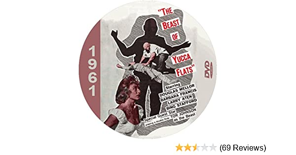 Amazon.com: The Beast of Yucca Flats (1961) Classic Sci-fi and Horror Movie DVD-R: Bing Stafford, Barbara Francis, Douglas Mellor: Movies & TV