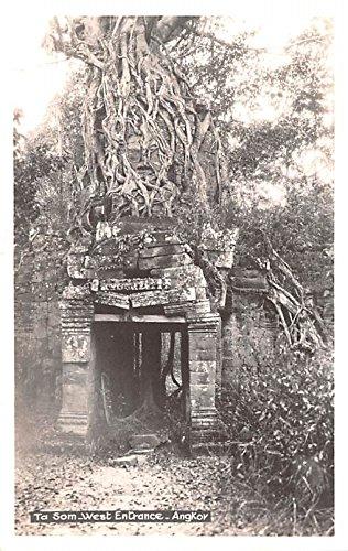 Ta Som West Entrance Angkor Cambodia, Cambodge Postcard (Ta Som)