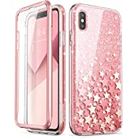 iPhone Xs Max Case, [Built-in Screen Protector] i-Blason...