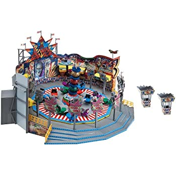 ho scale buildings and structures amazoncom faller 140461 break dance 1 roundabout ho scale