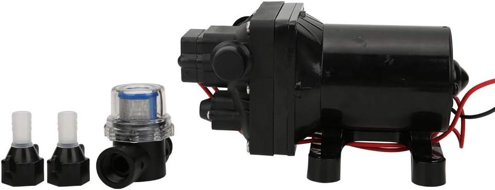 Hebrew Bomba de diafragma Resistente y Duradera de 12 V, Bomba de diafragma para Yates, 12 V para máquinas expendedoras de vagones de estación de Yates acuáticos
