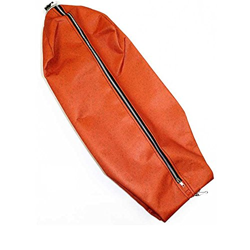 Royal Dirt Devil Cloth Bag, Commercial Zipper with Fill Tube Orange (Royal Commercial Vacuum Parts compare prices)