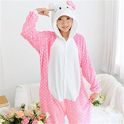 MH-RITA Otoño invierno primavera amantes de franela parejas Mujer Pijama Animal una pieza Cartoon