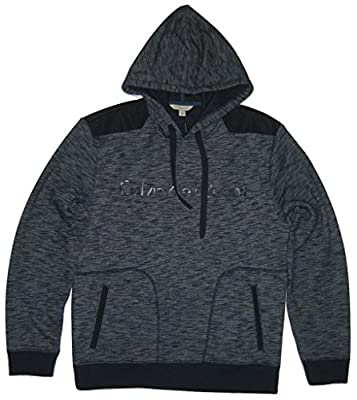 Calvin Klein Jeans Mens' Long Sleeve Hoodie, Midnight Quarry