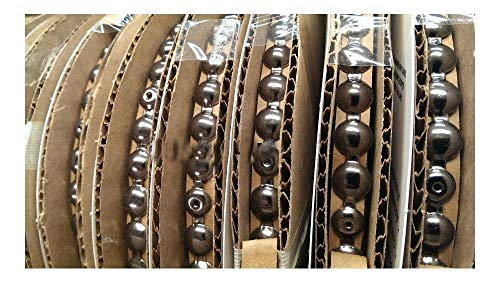30 Feet BLACK NICKEL Upholstery Tackstrips Roll Nail Strip Nailhead Trim U.S.A. ()