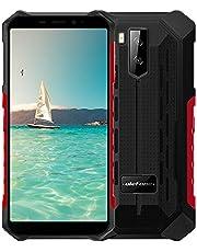 Ulefone Armor X9 PRO (2021) 4G Smartphone, 4GB RAM + 64GB ROM, 13MP + 8MP Camera, FHD + 5.5 Inch, Android 11 IP68 Outdoor Mobiele Telefoons, 5000 mAh, NFC Onderwatermodus Rood