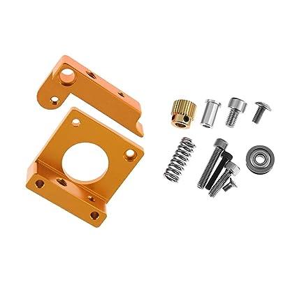 Aibecy MK8 Extrusora de Aleación de Aluminio Bloque DIY Kit para ...
