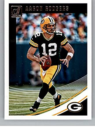 8ed9cde27 2018 Donruss Football  103 Aaron Rodgers Green Bay Packers Official NFL  Trading Card
