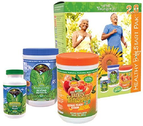 Youngevity HEALTHY START Pak 2.0 Citrus Peach Fusion by Dr. Wallach by youngevity