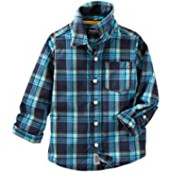 OshKosh B'Gosh Boys' Woven Fashion Top 21383112
