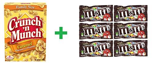 crunch-n-munch-caramel-popcorn-peanuts-10-oz-pack-of-11-mm-milk-chocolate-6ct-169oz