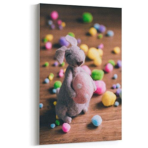 Westlake Art - Bunny Easter - 5x7 Canvas Print Wall Art - Ca