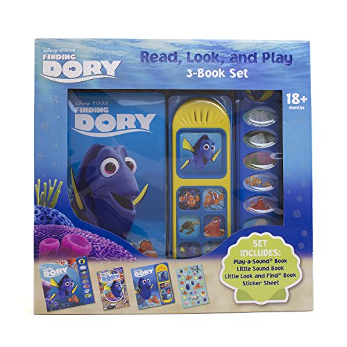 Finding Dory: Read, Look, and Play 3 Book Set 9781503712607 ()