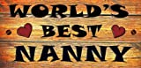 Wooden Funny Sign Wall Plaque Gift Present World's Review and Comparison