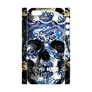 Fashion Diy Skull 3D Case for iPhone 5,5S ,Customized case MK807121