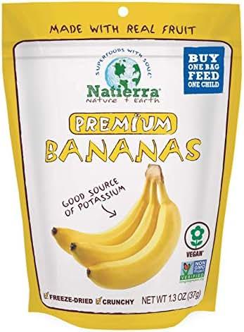 Dried Fruit & Raisins: Natierra Premium Banana