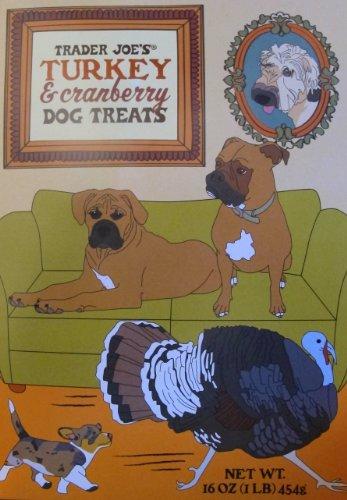 (Trader Joe's Turkey & Cranberry Dog Treats)