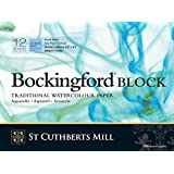 "Bockingford 300gsm Block 12"" x 9"" (23 x 31cm) NOT"