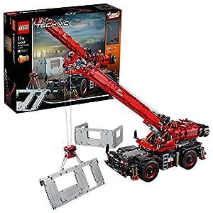Lego Technic Rough Terrain Crane 42082 Building Set